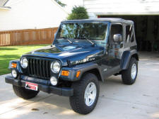 2006 Jeep Wrangler Rubicon in Deep Beryl Green