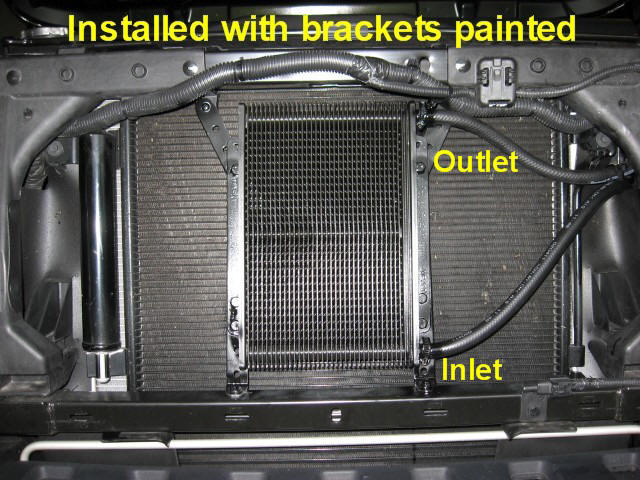 Adding a transmission cooler