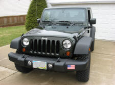 Jeep Wrangler Rubicon 2011 Natural Green Pearl 2