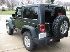 Jeep Wrangler Rubicon 2011 Natural Green Pearl 3